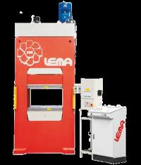 Pressa oleodinamica per stampaggio resine termondurenti